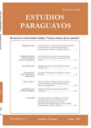 Revista Estudios Paraguayos 2016   N  1 Vol XXXIV PDF