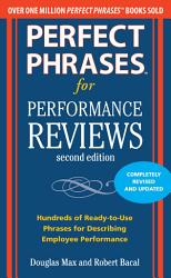 Perfect Phrases For Performance Reviews 2 E Book PDF
