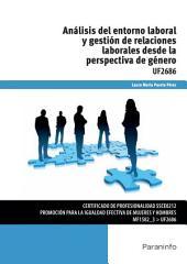 UF2686 - Análisis del entorno laboral y gestión de relaciones laborales desde la perspectiva de género