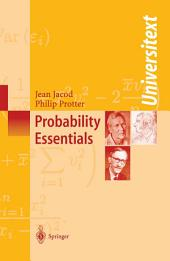 Probability Essentials: Edition 2