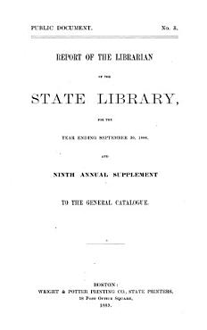 Report of the Librarian of the State Library PDF