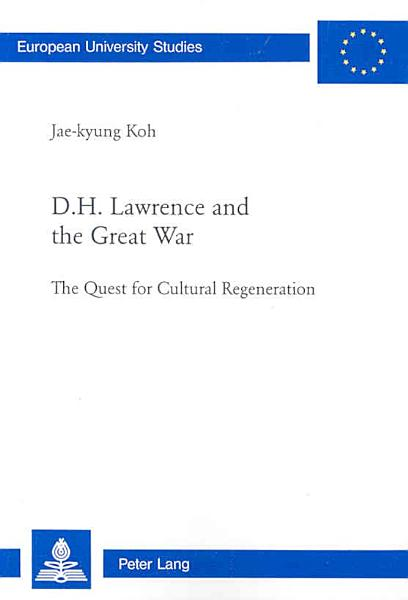 Download D H  Lawrence and the Great War Book