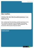 Globus f  r den Reichsau  enminister von Ribbentrop PDF