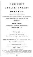 The Parliamentary Debates  Authorized Edition  PDF