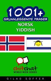 1001+ grunnleggende fraser norsk - yiddish