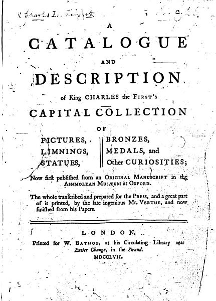 Download A Catalogue and Description of King Charles the First s Capital Collection of Pictures  Limnings  Statues  Bronzes  Medals  and Other Curiosities Book