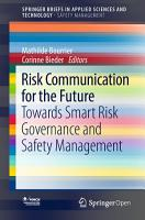 Risk Communication for the Future PDF