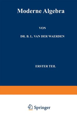 Moderne Algebra PDF
