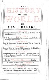 The History of the World: In Five Books ...