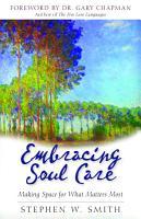 Embracing Soul Care PDF