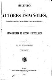 Historiadores de sucesos particulares: Volumen 21