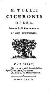 M. Tullii Ciceronis opera, 2: Volume 7