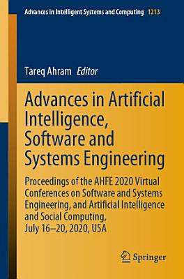 Advances in Artificial Intelligence, Software and Systems Engineering