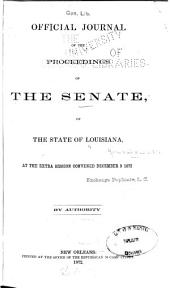 Official Journal of the Proceedings of the Senate of the State of Louisiana, ...