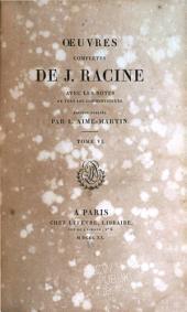Discours académiques. Lettres. Pièces diverses attribuées à Jean Racine