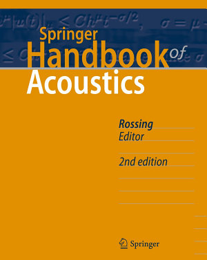 Springer Handbook of Acoustics PDF