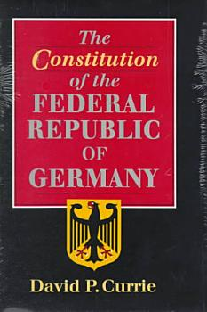 The Constitution of the Federal Republic of Germany PDF