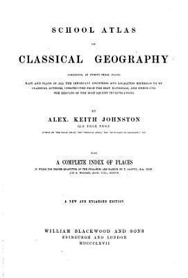 School Atlas of Classical Geography PDF