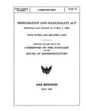 Immigration and Nationality Act (1995)