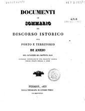 Sul porto e territorio di Anzio: discorso istorico, Volume 1