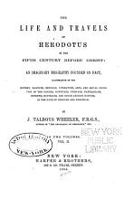 The Life and Travels of Herodotus in the Fifth Century PDF