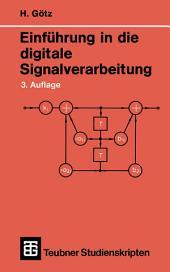 Einführung in die digitale Signalverarbeitung: Ausgabe 3