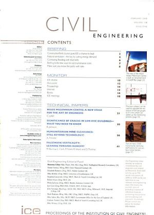 Proceedings of the Institution of Civil Engineers PDF