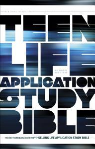 NLT Teen Life Application Study Bible Book