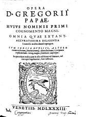 Opera omnia, quae extant, accuratissima diligentia denuo repurgata (etc.)