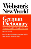 Webster s New World German Dictionary