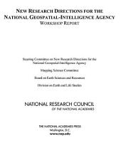 New Research Directions for the National Geospatial-Intelligence Agency: Workshop Report