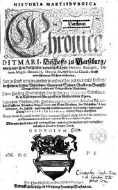 Historia Martisburgica