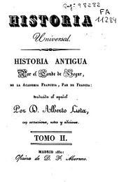 Historia antigua: Volumen 2