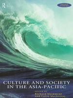 Culture and Society in the Asia Pacific PDF
