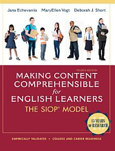 Making Content Comprehensible for English Learners Book