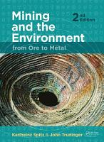 Mining and the Environment PDF