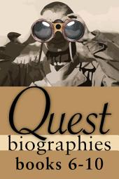 Quest Biographies Bundle — Books 6–10: John Franklin / Marshall McLuhan / Phyllis Munday / Wilfrid Laurier / Nellie McClung