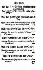 Geistliche Betrachtungen Auf jede Täg des Jahrs: In vier Theil abgetheilt. April. May. Brachmonat, Band 2