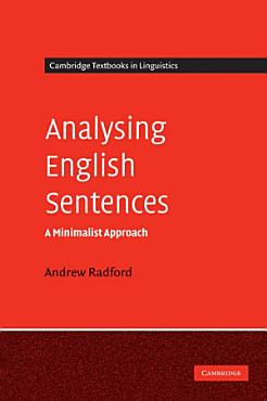 Analysing English Sentences PDF