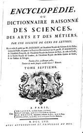 Encyclópedie, ou dictionnaire raisonné des sciences, des arts et des métiers