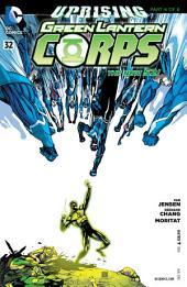 Green Lantern Corps (2011- ) #32