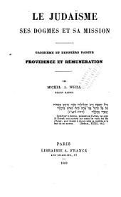 pt. 3. Providence et rémunération. Paris : Librairie A. Franck, 1869