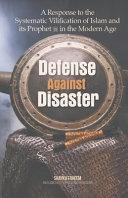 Defense Against Disaster