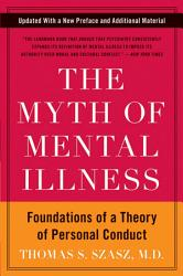 The Myth Of Mental Illness Book PDF