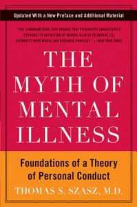 The Myth of Mental Illness Book