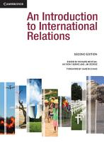 An Introduction to International Relations PDF