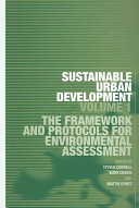 Sustainable Urban Development  The framework and protocols for environmental assessment PDF