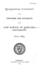 Alumni Directory of the Harvard Law School