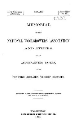 Memorial of the National Wool Growers  Association and Others