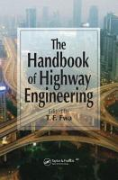 The Handbook of Highway Engineering PDF